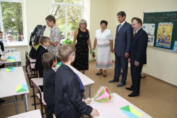 Первый звонок в Кушугумской школе «Интеллект» все же прозвучал (ФОТО), фото-3