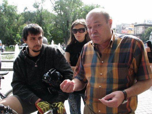 Запорожские велосипедисты требуют от городских властей, чтобы с ними считались (ФОТО), фото-1