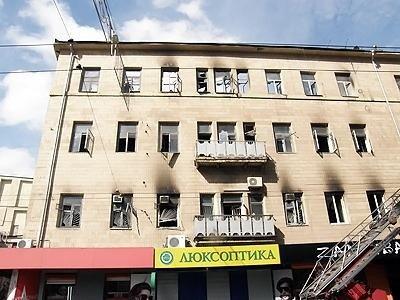 Как выглядит здание на Сумской, 11 после пожара (ФОТО), фото-4