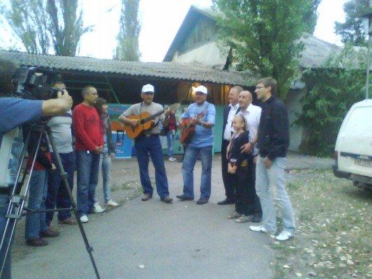 В Запорожье прошел фестиваль авторской песни «Байда-2010»., фото-1