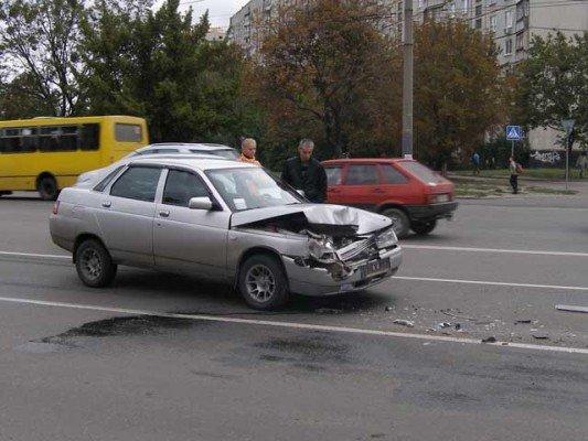 Пешеход стал виновником ДТП на проспекте Гагарина (ФОТО), фото-1