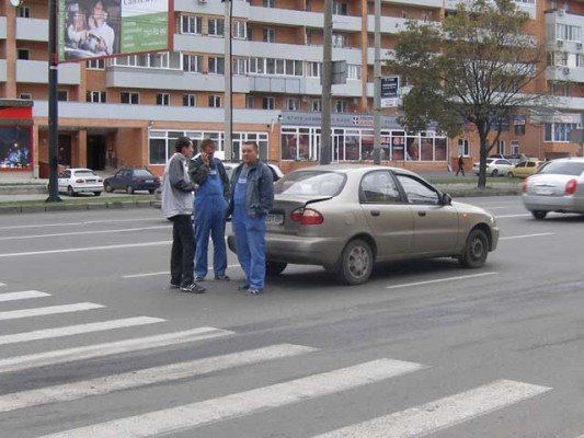 Пешеход стал виновником ДТП на проспекте Гагарина (ФОТО), фото-2