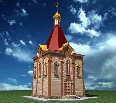 За два месяца возле взорванного храма поставят деревянную церковь (ФОТО), фото-3