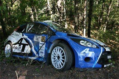 Машину за $600 тыс. разбил украинский экипаж на Prime Yalta Rally (фото), фото-1