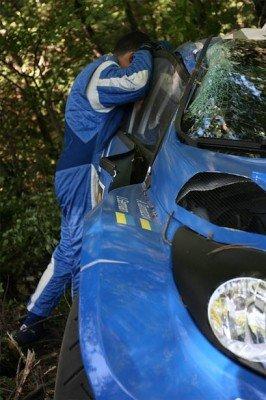 Машину за $600 тыс. разбил украинский экипаж на Prime Yalta Rally (фото), фото-2