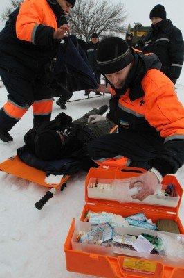 На «Донецком море» спасали утопающих (фото), фото-2
