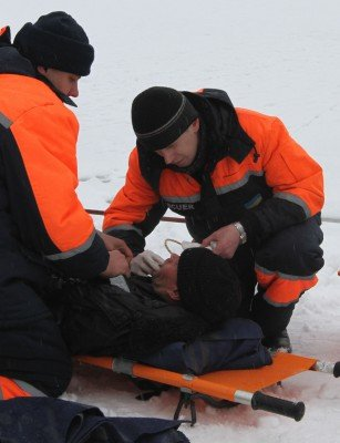 На «Донецком море» спасали утопающих (фото), фото-3