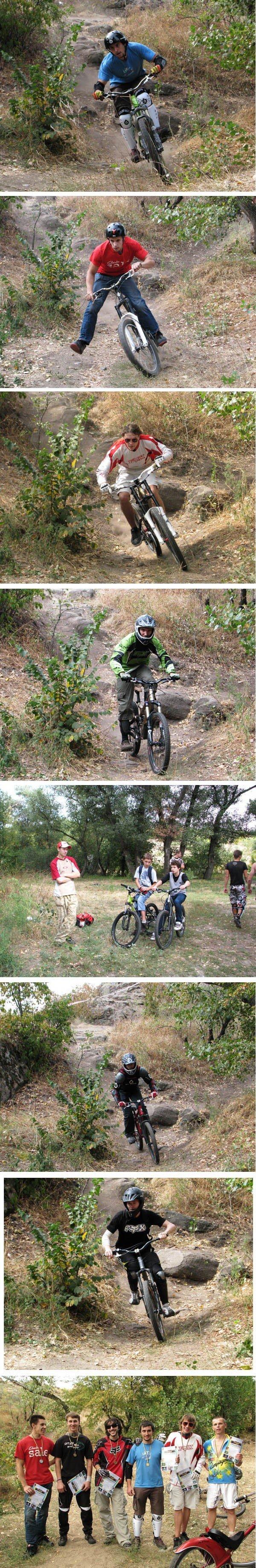 На Хортице состоялись неофициальные соревнования по экстремальному велоспорту (ФОТО), фото-4