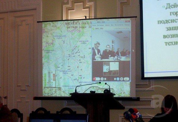 Ураган и химическая авария в Харькове. В горсовете управляли воображаемыми ЧП (ФОТО), фото-3