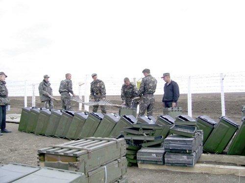Харьковские курсанты стреляли в Крыму (ФОТО), фото-1