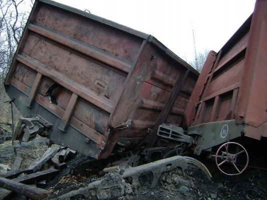 Донецкие промышленники калечат железнодорожный транспорт. В день по 2 тысячи вагонов (ФОТО), фото-1