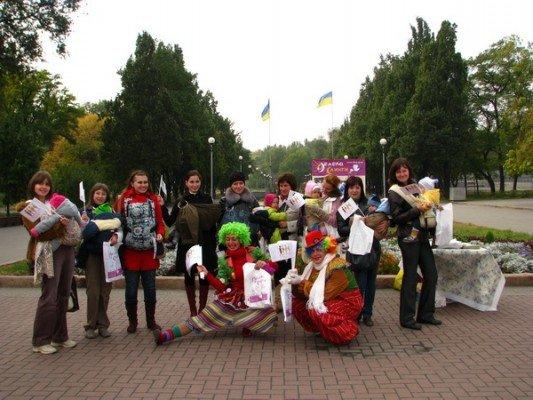 Вчера в Запорожье открыли неделю безопасного слингоношения (ФОТО), фото-1
