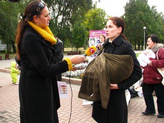 Вчера в Запорожье открыли неделю безопасного слингоношения (ФОТО), фото-2