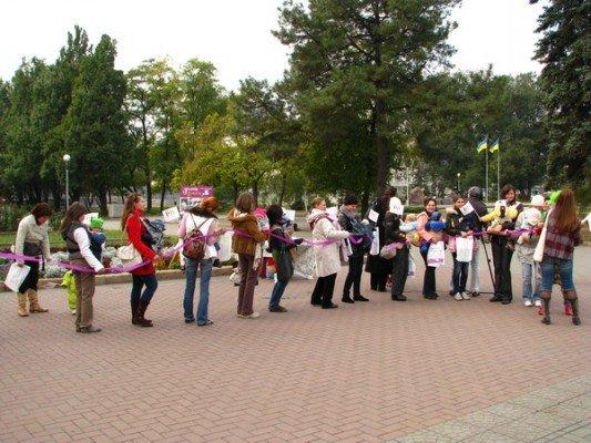 Вчера в Запорожье открыли неделю безопасного слингоношения (ФОТО), фото-3