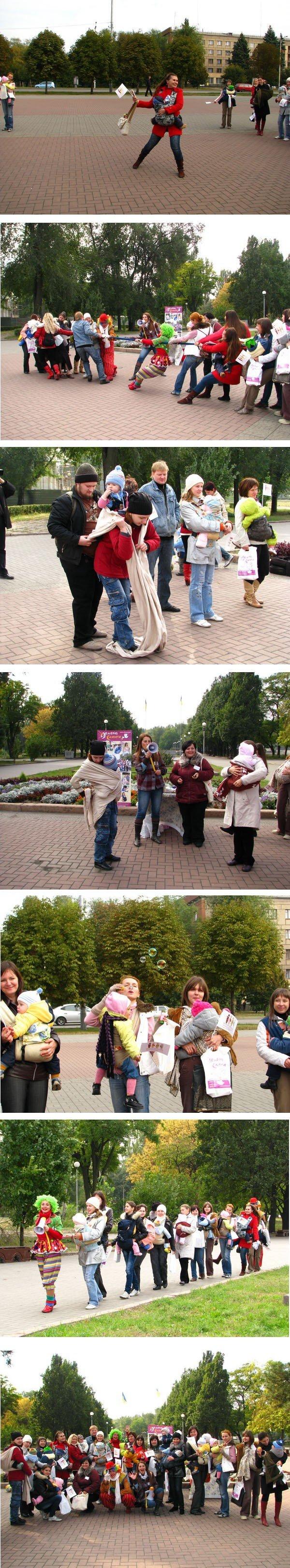 Вчера в Запорожье открыли неделю безопасного слингоношения (ФОТО), фото-4