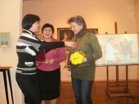 В Горловском художественном музее выбрали «Богиню кисти» и «Орфея живописи», фото-4