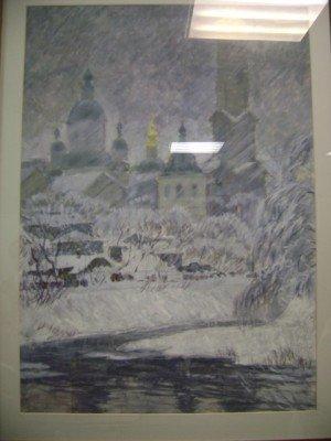 Вернисаж картин о Харькове открылся в отделении больницы (ФОТО), фото-2