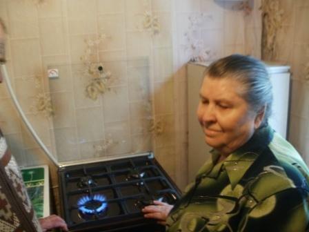 Голубой огонек загорелся в трех домах Калиновки, фото-3