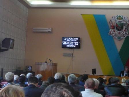 Все депутаты Горловского горсовета не собрались даже на итоговом заседании, фото-1