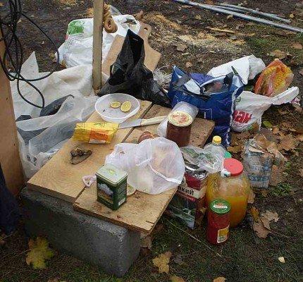 Харьковчан агитировали горячей едой (фотофакт), фото-1
