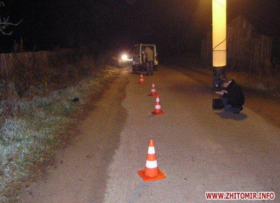 В селе Ушомир Житомирской области житель Коростеня сбил насмерть пешехода (ФОТО), фото-3
