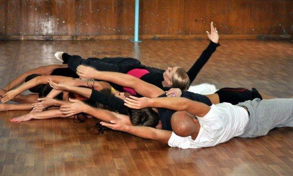 Анастасия Волочкова ставит совместный номер с ребятами из житомирского танцевального коллектива «Солнышко»  (ФОТО), фото-1