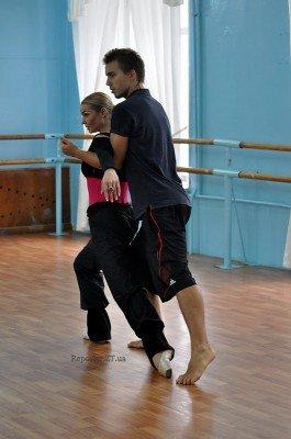 Анастасия Волочкова ставит совместный номер с ребятами из житомирского танцевального коллектива «Солнышко»  (ФОТО), фото-3