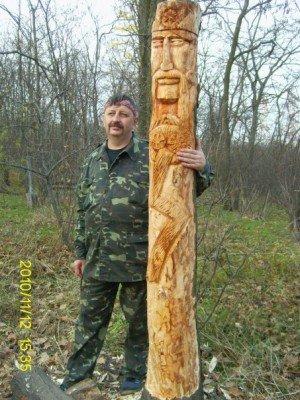 Запорожские язычники восстановили изувеченные лики Богов (ФОТО), фото-3