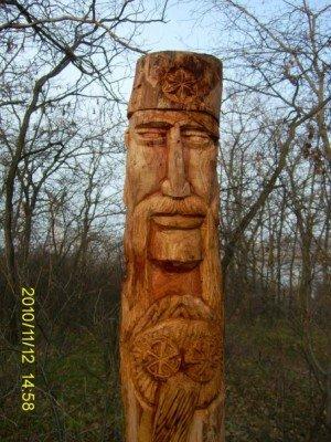 Запорожские язычники восстановили изувеченные лики Богов (ФОТО), фото-2