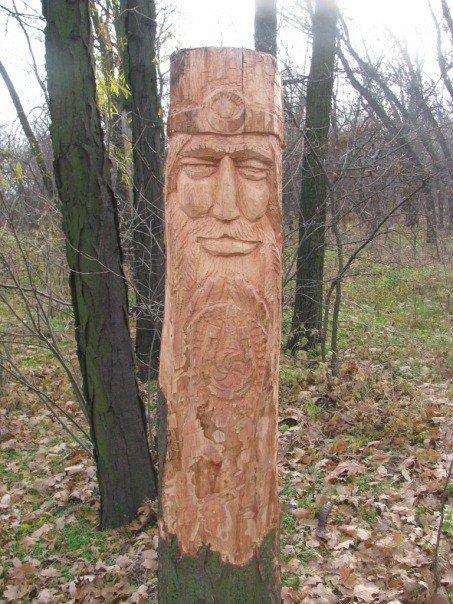 Запорожские язычники восстановили изувеченные лики Богов (ФОТО), фото-4