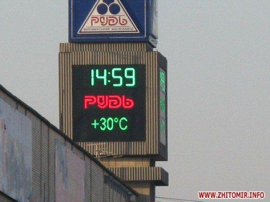 В Житомире в ноябре «температурная аномалия» - +30 (фотофакт), фото-2