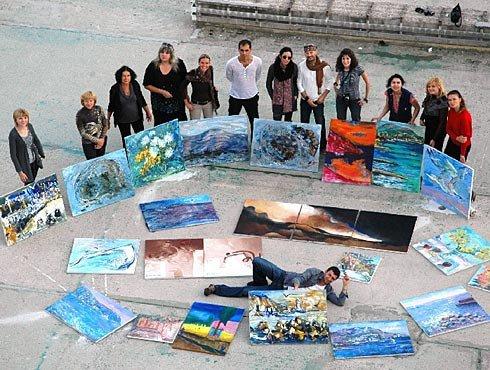 Набережная Ялты рукоплещет молдавским живописцам (ФОТО), фото-1