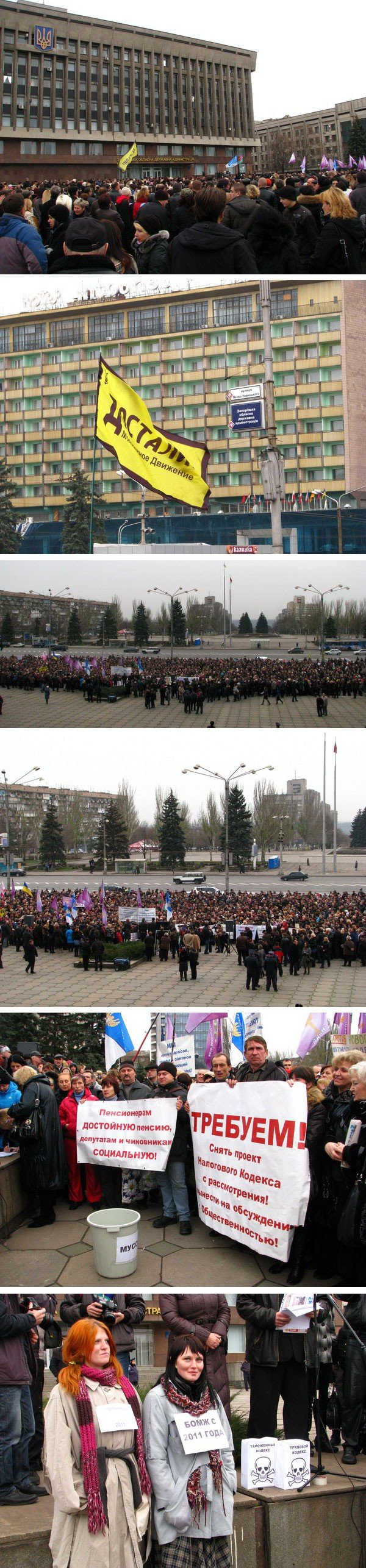 Возле запорожского облсовета митинговали против Налогового Кодекса  (ФОТО), фото-4
