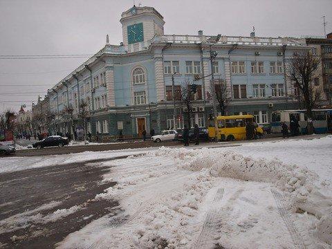 Житомирские коммунальщики оказались не готовы к первому снегу (ФОТО), фото-2