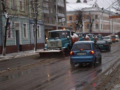 Житомирские коммунальщики оказались не готовы к первому снегу (ФОТО), фото-3