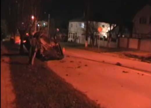 В Симферополе пьяная дама на дорогой иномарке побила три машины (ФОТО+ВИДЕО), фото-3