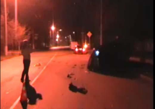 В Симферополе пьяная дама на дорогой иномарке побила три машины (ФОТО+ВИДЕО), фото-4