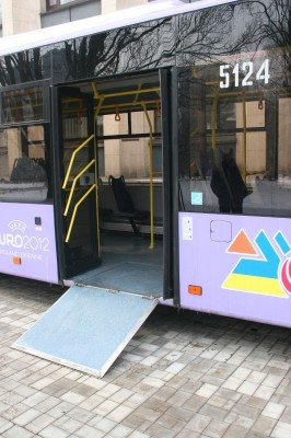 16 новых автобусов с символикой «Евро-2012» вышли на улицы Донецка (фото), фото-3