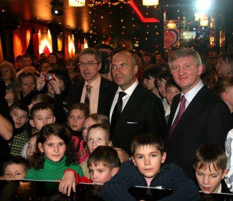 Ринат Ахметов и Игорь Крутой поздравили донецких детей с днем Святого Николая  (фото), фото-3