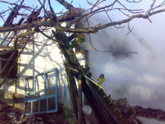 На пожаре погибли трое жителей Васильевки (ФОТО), фото-1
