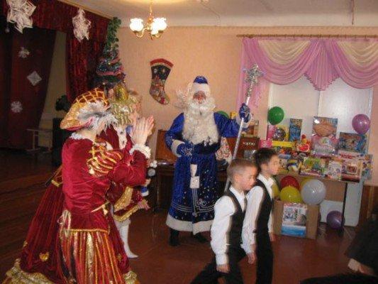 Запорожским слабовидящим детям подарили подарки и развлекательную программу к Новому Году (ФОТО), фото-1