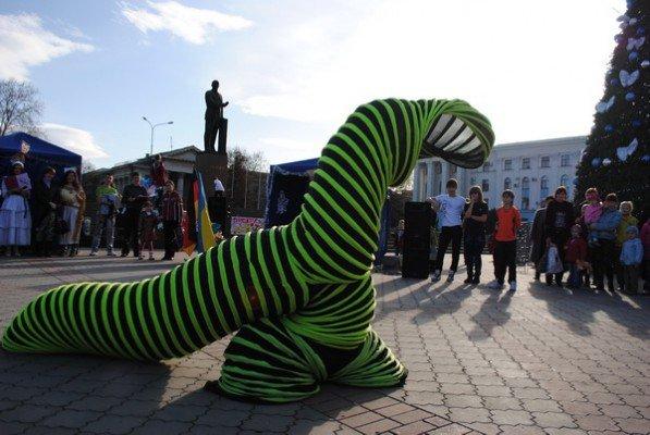 В Симферополе два дня проходила рождественская ярмарка (ФОТО), фото-1