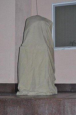 Запорожскому Сталину снесли голову (ФОТО), фото-1