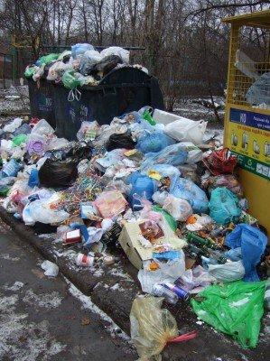 Донецк за новогодние праздники превратился в город миллиона свалок (фото), фото-3