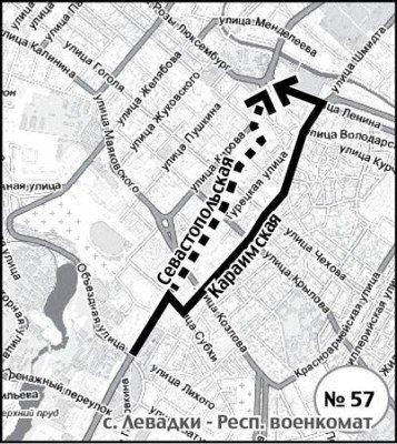 В Симферополе 86 автобусов ходят из пункта А в пункт Б по-новому (СХЕМА), фото-2