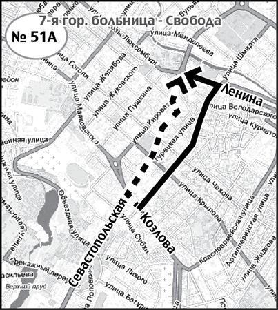 В Симферополе 86 автобусов ходят из пункта А в пункт Б по-новому (СХЕМА), фото-4