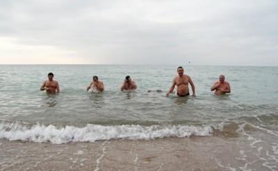 Крымский спикер на Крещение искупался  (ФОТО), фото-2