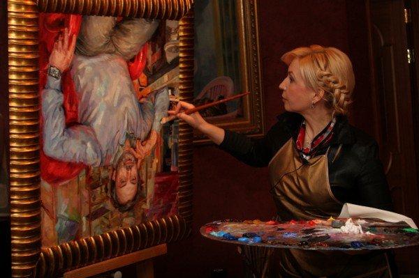 В Донецке нарисовали портрет любимого дизайнера Аллы Пугачевой (фото), фото-1