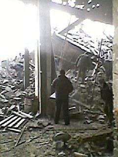 На Донетчине все еще ищут рабочего под обломками металлического бункера (ФОТО), фото-2