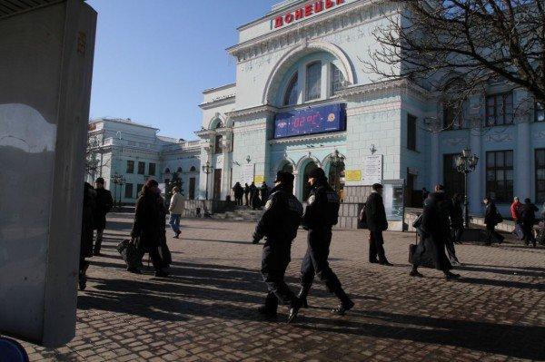 На Донецкой железной дороге приняты дополнительные меры безопасности (фото), фото-1